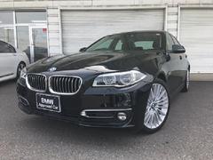 BMWアクティブハイブリッド5 ラグジュアリーLCI黒革認定中古車