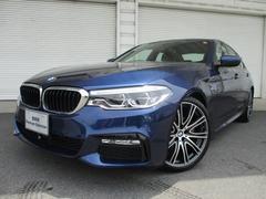 BMW523d Mスポーツ LEDヘッドライト20AW 認定中古車