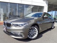BMW523iラグジュアリーブラックレザーウッド 認定中古車