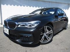 BMW740i Mスポーツ20AW黒革LEDデモカー認定中古車
