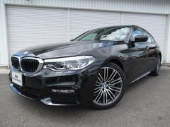 BMW523i Mスポーツ19AWウッドP登録済み未使用車