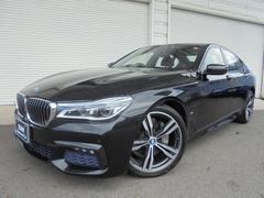 BMW740e PHEV Mスポーツ20AW黒革デモカー認定中古車