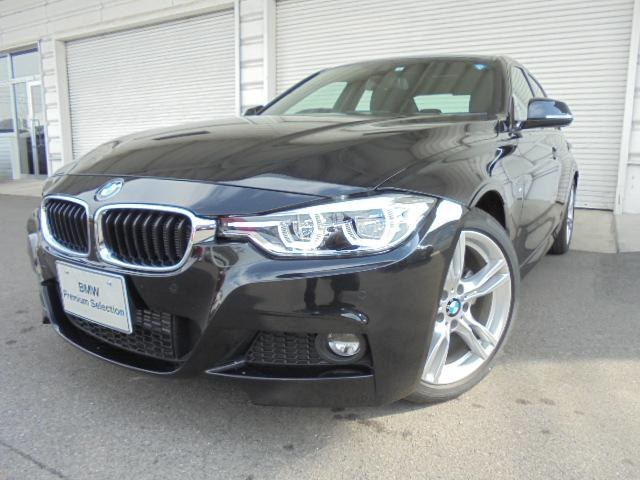BMW 318i Mスポーツ18AWウッドPデモカー認定中古車