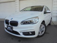 BMW218iアクティブツアラーラグジュアリー黒レザー 認定中古車