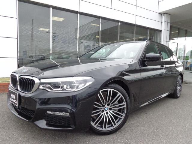 BMW 523iツーリングMスポーツ黒革ハイライン19AW認定中古車