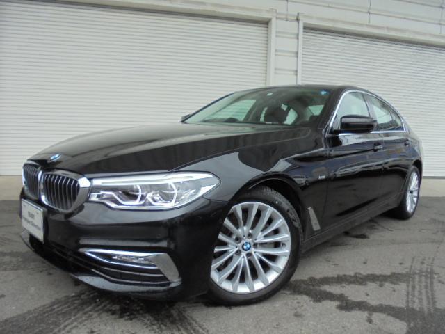 BMW 523iラグジュアリー黒革イノベPコンフォートP認定中古車