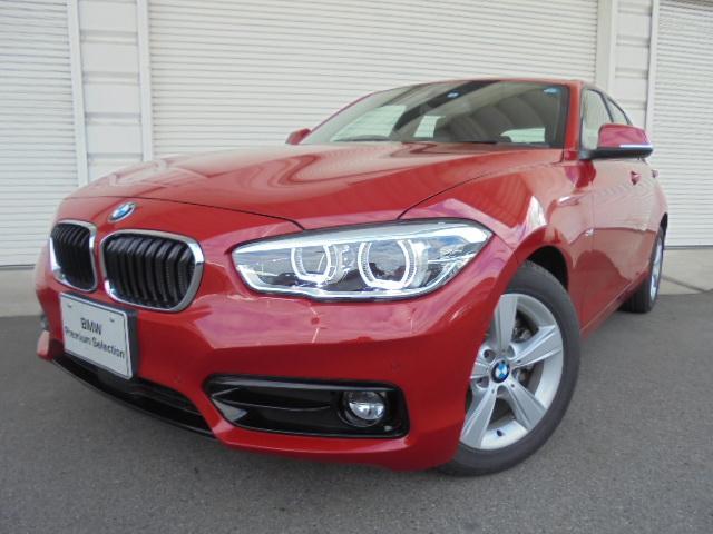 BMW 118d スポーツACCコンフォートPサポデモカー認定中古車