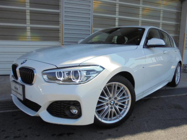 BMW 118i MスポーツSR黒革コンフォートPサポ認定中古車