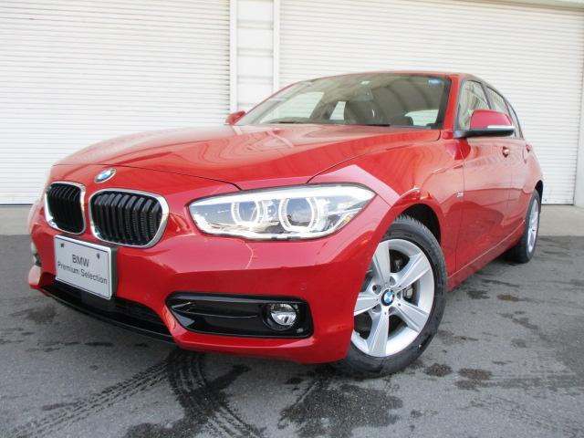 BMW 118d スポーツACCパーキングサポートデモカー認定中古車