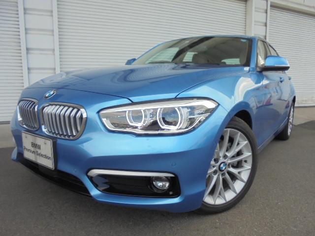 BMW 118d ファッショニスタUPグレードオイスター革認定中古車