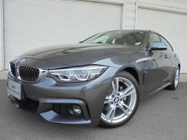 BMW 420iグランクーペMスポーツ18AW赤革デモカー認定中古車