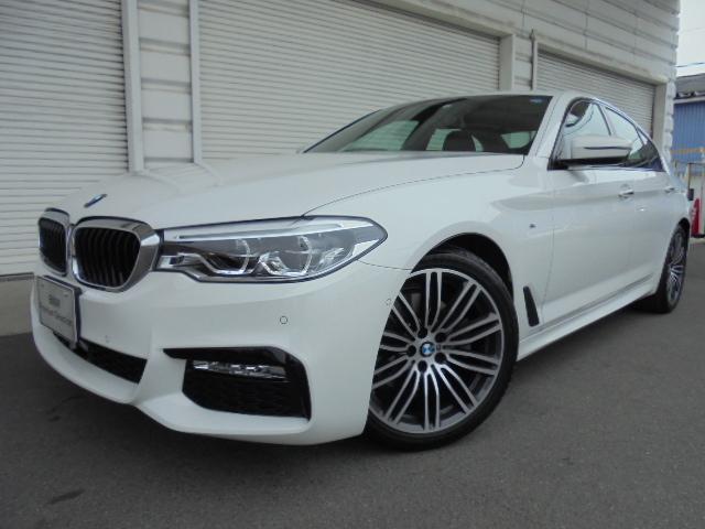 BMW 523d Mスポーツハイライン黒革イノベーションP認定中古車