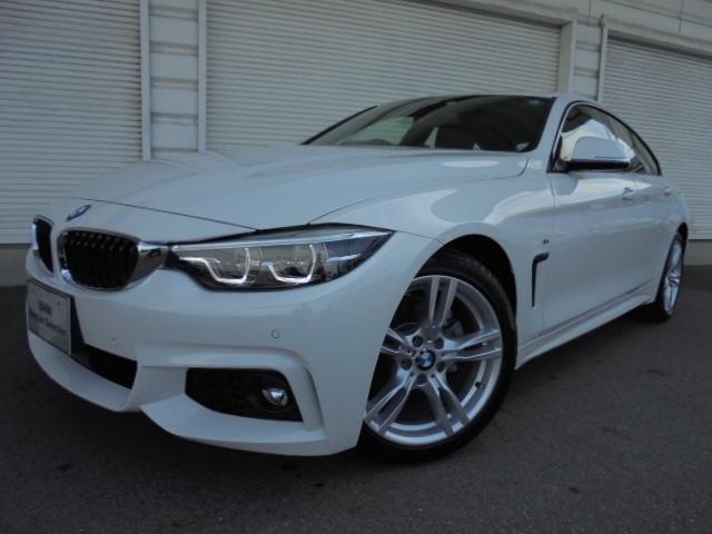 BMW 420iグランクーペMスポーツ18AWデモカー認定中古車