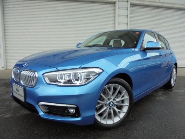 BMW 118i ファッショニスタUPグレードACC認定中古車