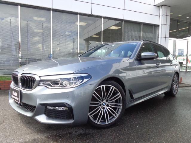 BMW 523iツーリングMスポーツハイラインベージュ革認定中古車
