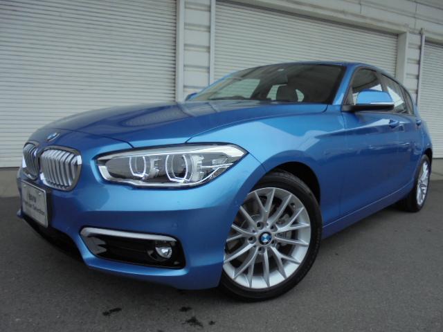 BMW 118i ファッショニスタUPグレードオイスター革認定中古車