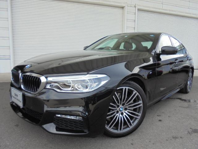 BMW 523d Mスポーツハイライン黒革イノベーション認定中古車」