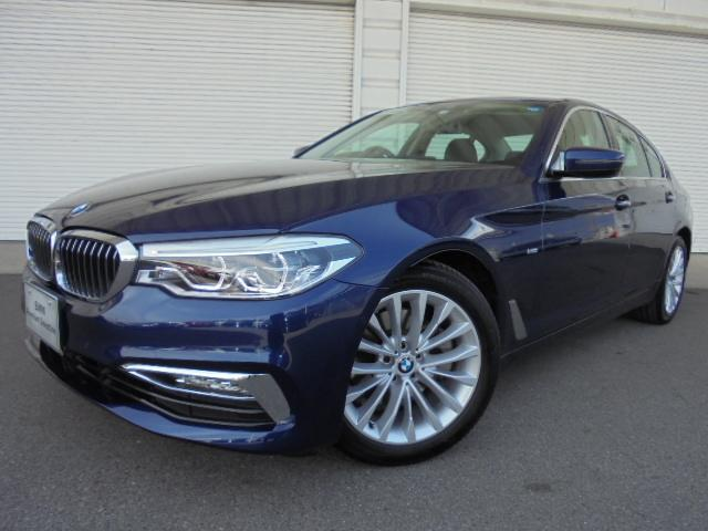 BMW 523d ラグジュアリー黒革イノベーションP認定中古車