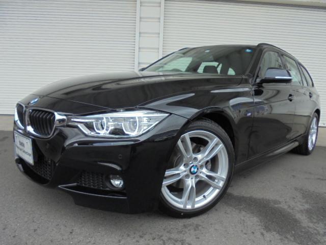 BMW 318iツーリングMスポーツ黒革ウッドP認定中古車