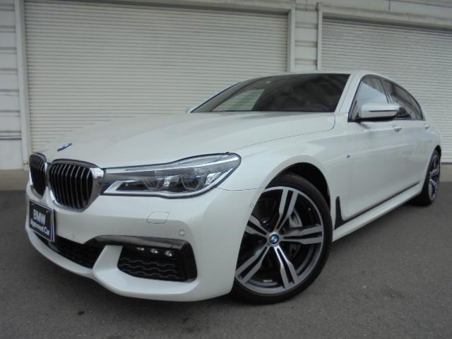BMW 750Li Mスポーツ左HリヤコンフォートSR黒革認定中古車