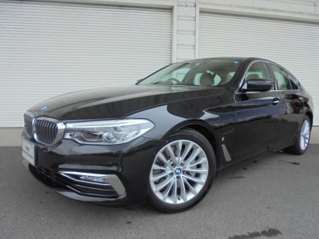 BMW 5シリーズ 530ePHEVラグジュアリーベージュ革デモカー認定中古車