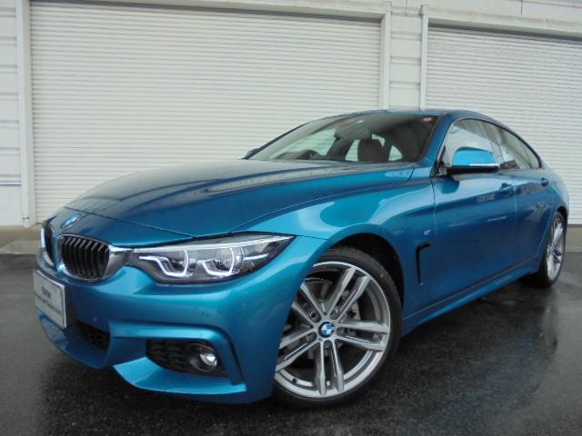 BMW 420iグランクーペMスポーツ19AW赤革ガラスSR認定車