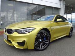 BMW M4M4クーペM−DCT黒革19AWデモカー認定中古車