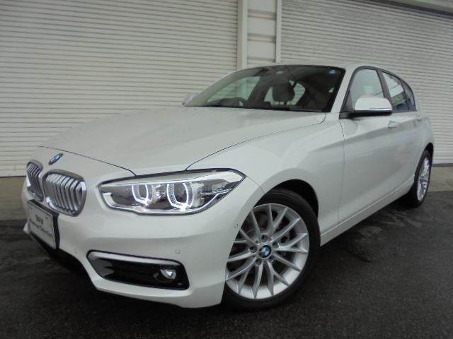 BMW 118i ファッショニスタACCオイスター革Pサポ認定中古車