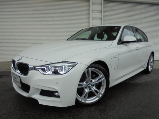 BMW 330e Mスポーツ18AW黒革デモカー認定中古車