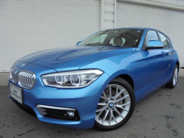 BMW 118d ファッショニスタUPグレードACCオイスタ革Pサポ