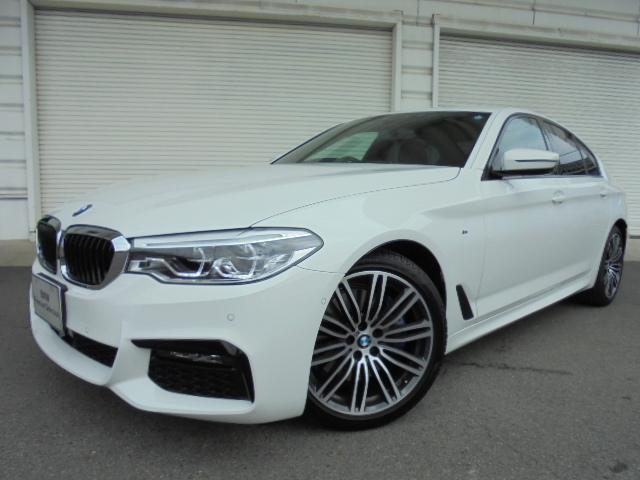 BMW 530i Mスポーツ黒革イノベーションP禁煙1オナ認定中古車