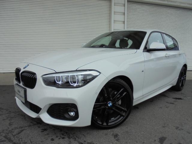 BMW 118i MスポーツエディションシャドUPグレード黒革ACC