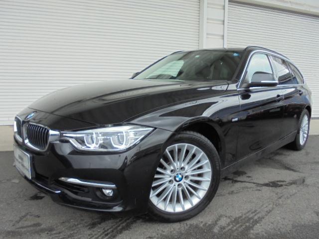 BMW 318iツーリングラグジュアリー黒革ドラレコ1オナ認定中古車