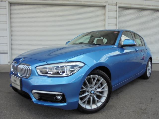 BMW 118i ファッショニスタUPグレードオイスター革ACC