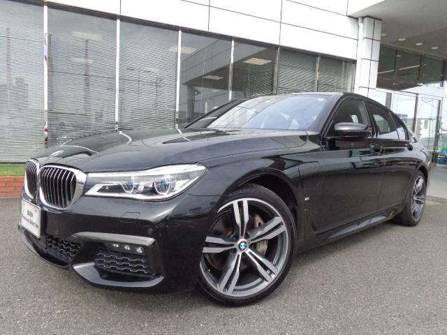 BMW 740e PHEV Mスポーツ20AW黒革認定中古車