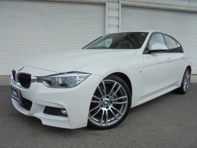 BMW 320d Mスポーツ19AW黒革ACC社外DTV認定中古車