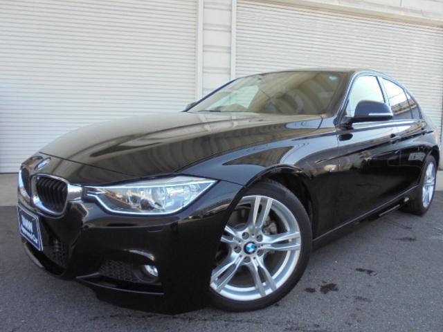 BMW 320i Mスポーツ18AW衝突軽減ACC禁煙1オナ認定車