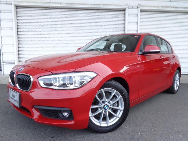 BMW 118iプラスPコンフォートPサポシートヒーター禁煙デモカー