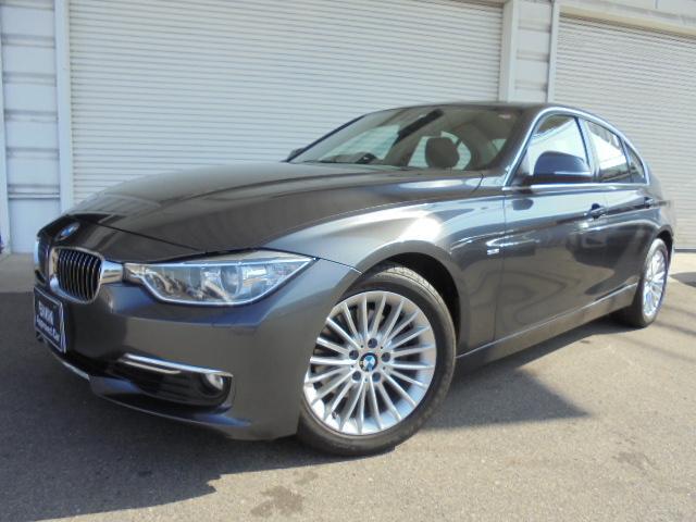 BMW 320iラグジュアリー黒革社外DTV禁煙1オナ認定中古車