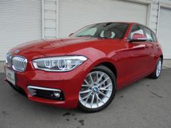 BMW118d ファッショニスタオイスター革PサポACC認定中古車