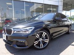 BMW750Li Mスポーツ20AWリヤプラスコンフォート黒革