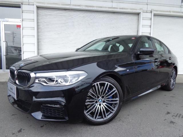 BMW 540i xドライブMスポーツ19AWセレクト黒革SR認定車