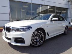 BMW523d Mスポーツ19AWデモカー認定中古車