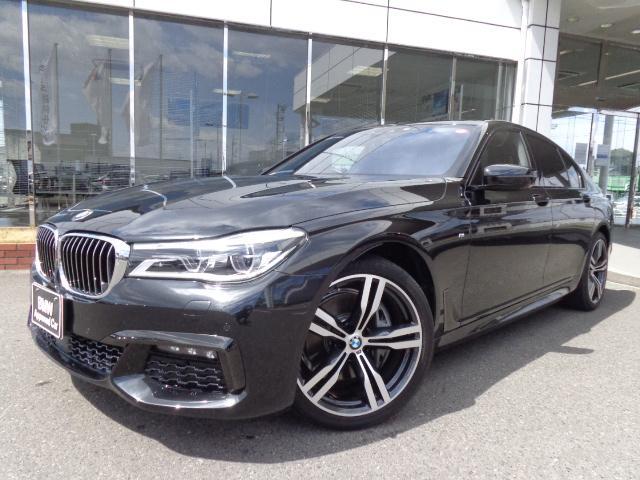 BMW 740i Mスポーツ20AWモカ革リモートパーキング