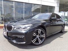 BMW740i Mスポーツ20AWモカ革リモートパーキング