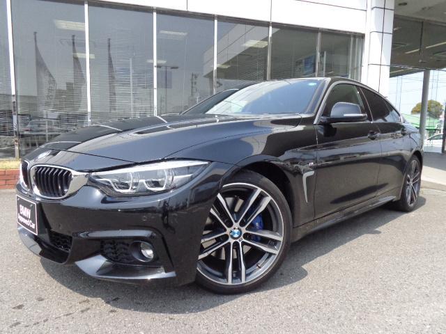 BMW 4シリーズ 420iグランクーペインスタイルスポーツ黒革禁煙1オナ認定車