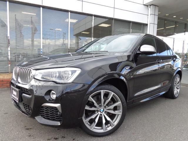 BMW X4 M40i左H黒革LEDウッド20AW禁煙1オナ認定中古車