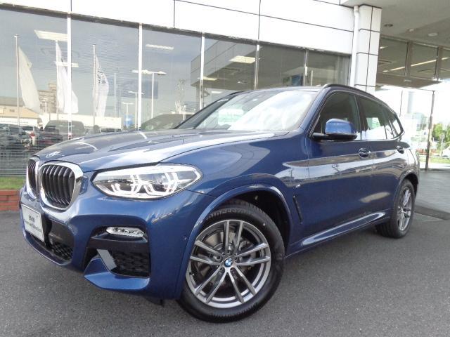 BMW X3 xドライブ20d Mスポーツ19AWヘッドUPデモカー認定車