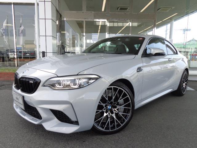 BMW M2 コンペティション19AW黒革ドラレコ禁煙1オナ認定中古車
