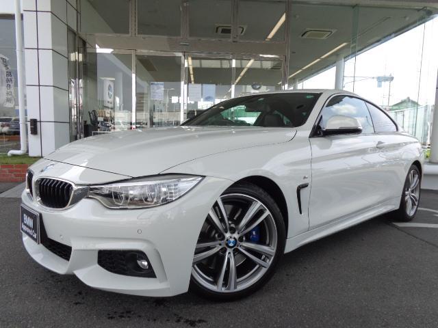 BMW 4シリーズ 428iクーペMスポーツ19AW黒革1オナ禁煙認定中古車